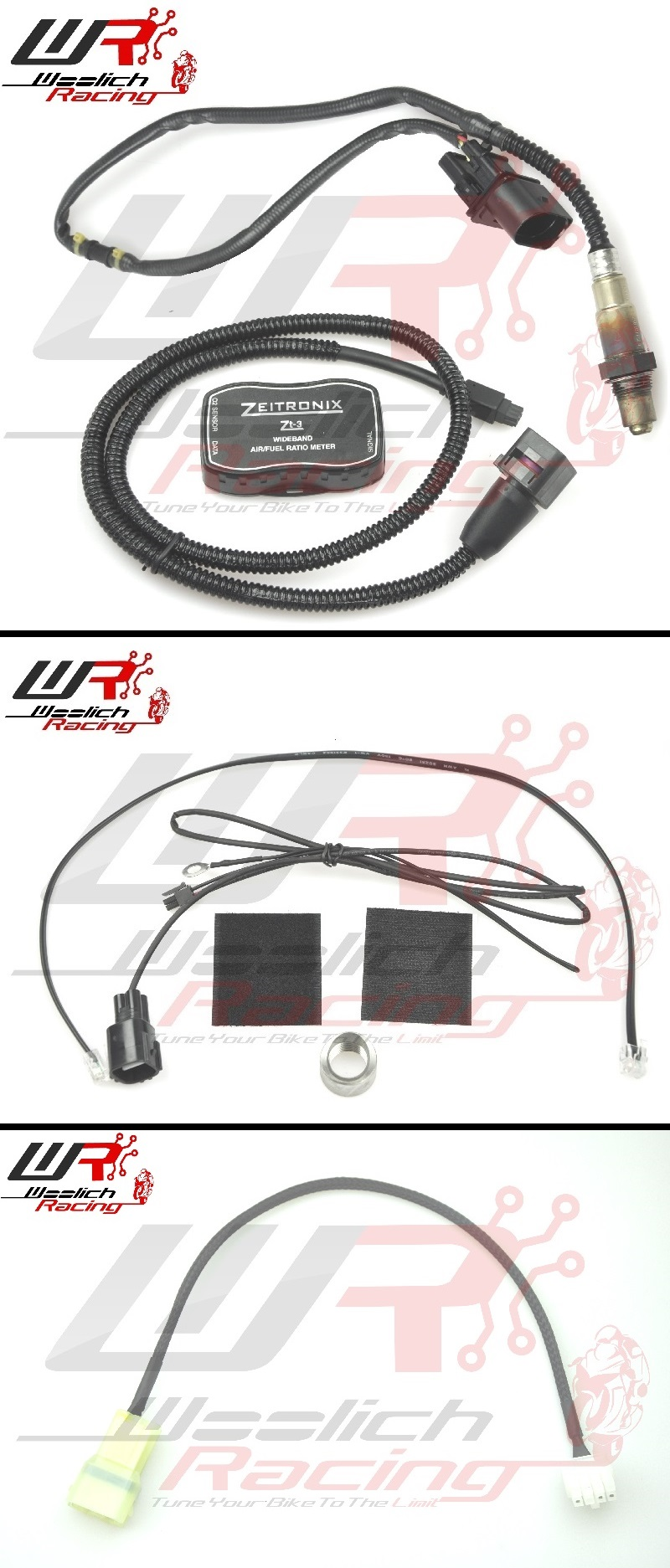 2017-2018 Kawasaki Z900 - Log Box (Denso) v3 + Zeitronix ZT-3 Wideband O2 Package