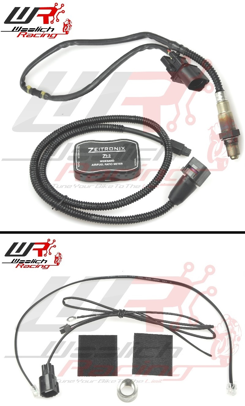 2017-2018 ZX10RR - Log Box (Mitsubishi) + Zeitronix ZT-3 Wideband Package