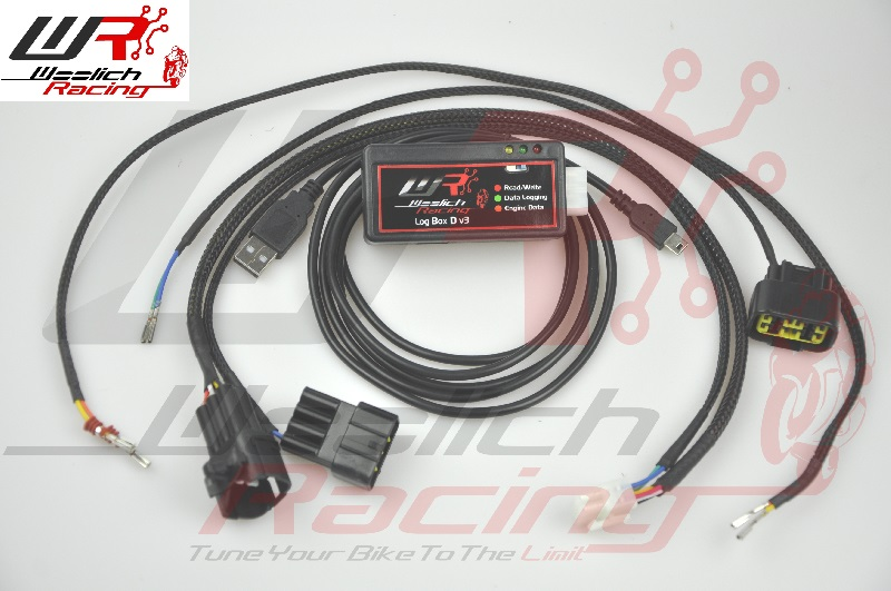 2013-2016 Suzuki GSF 1250 (Bandit) - Log Box (Denso) v3 + Zeitronix ZT-3 Wideband O2 Package